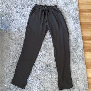 Pants - Green casual pants